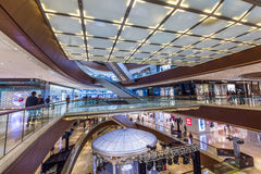 Shopping mall center,guangzhou Royalty Free Stock Photography
