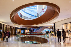 Shopping mall center guangzhou Royalty Free Stock Image