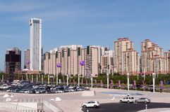 Shopping mall in China Stock Photo
