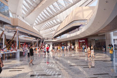 Shopping mall in China Royalty Free Stock Photos