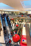 Shopping Mall Christmas Time Season Stock Photos