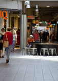 Shopping mall crowd Royalty Free Stock Photography