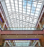 Shopping Mall. Details of construction Royalty Free Stock Photo