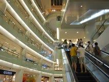 Shopping Mall elevator Stock Image