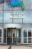 Shopping mall entrance. POZNAN, POLAND - FEBRUARY 16, 2013: Entrance of the Galeria Malta shopping mall Stock Photo