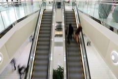 Shopping Mall Escalator Royalty Free Stock Image