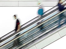 Shopping Mall Escalator Stock Image