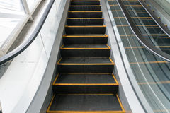 Shopping mall Escalator Stock Images