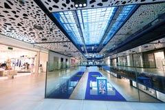 Shopping mall  escalators Stock Photo