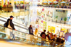 Shopping mall, Europe Stock Photography