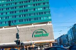 Shopping mall exterior Stock Photos