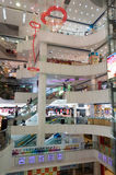 Shopping mall in guangzhou Stock Images
