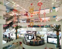 Shopping mall in guangzhou Stock Photo