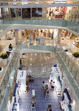Shopping mall in Hangzhou, China Stock Photo