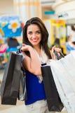 Shopping in Mall Stock Photos