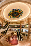 Shopping Mall : Harbour City in Hong Kong Royalty Free Stock Image