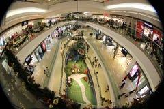 Shopping mall at hk 2016 xmas Royalty Free Stock Photography