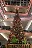 Shopping mall at hk 2016 xmas Royalty Free Stock Photo