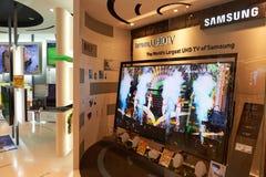 Shopping mall in Hong Kong Royalty Free Stock Photography