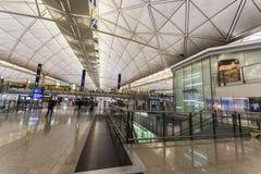 Shopping Mall in Hong Kong International Airport Royalty Free Stock Images