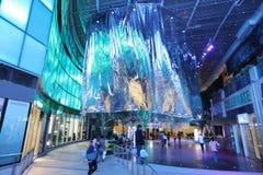 Shopping mall in Hong Kong.at tst. 2016 Royalty Free Stock Photos