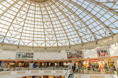 Shopping Mall Inside Royalty Free Stock Image