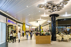 Shopping Mall Inside Royalty Free Stock Images