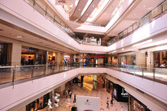 Shopping mall interior Royalty Free Stock Photography