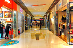 Shopping mall interior Royalty Free Stock Image