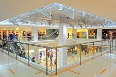 Shopping mall interior Royalty Free Stock Photos