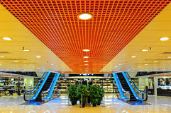 Shopping mall interior Stock Photos