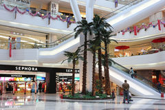 Shopping Mall Interior Stock Images