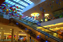 Shopping mall interior Stock Photo