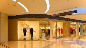 Shopping mall interior Stock Photo