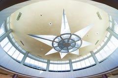 Shopping mall interior. In Dubai Royalty Free Stock Photos