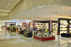 Shopping Mall. Interior of a modern shopping mall Stock Photo