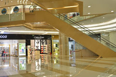 Shopping Mall. Interior of a modern shopping mall Royalty Free Stock Photos