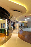 Shopping mall interior Royalty Free Stock Images