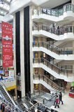 Shopping mall interior, wuhan china Stock Photography