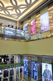 Shopping mall interior, wuhan china Stock Photos
