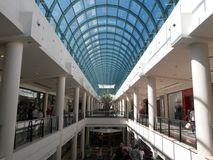 Shopping mall interiors Royalty Free Stock Photography