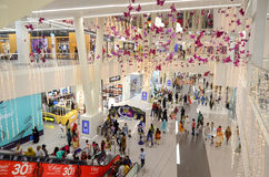 Shopping Mall Interiors. A view of one of the biggest malls of Pakistan, the Emporium Shopping Mall, Lahore, Punjab, Pakistan Stock Photo