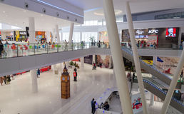 Shopping Mall Interiors. A view from Packages Shopping Mall Lahore, Punjab, Pakistan Stock Photo