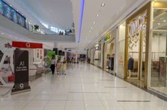 Shopping Mall Interiors. A view from Packages Shopping Mall Lahore, Punjab, Pakistan Royalty Free Stock Photography