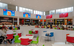 Shopping Mall Interiors. A view from Packages Shopping Mall Lahore, Punjab, PakistannThe Food Court in the Mall Stock Photo