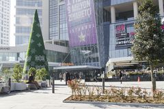 Shopping mall in Istanbul. Istanbul, Turkey - November 20, 2015: Subway station and mall in the centre district Stock Photography