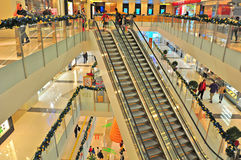Shopping mall k11 hong kong Stock Photography