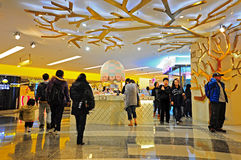 Shopping mall k11 hong kong Royalty Free Stock Image