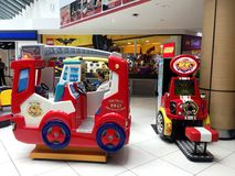 Shopping Mall Kids Play Area Royalty Free Stock Photography