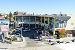 Shopping Mall Koreatown Los Angeles 2015. Shopping Mall in Koreatown Los Angeles 2015 Stock Photography